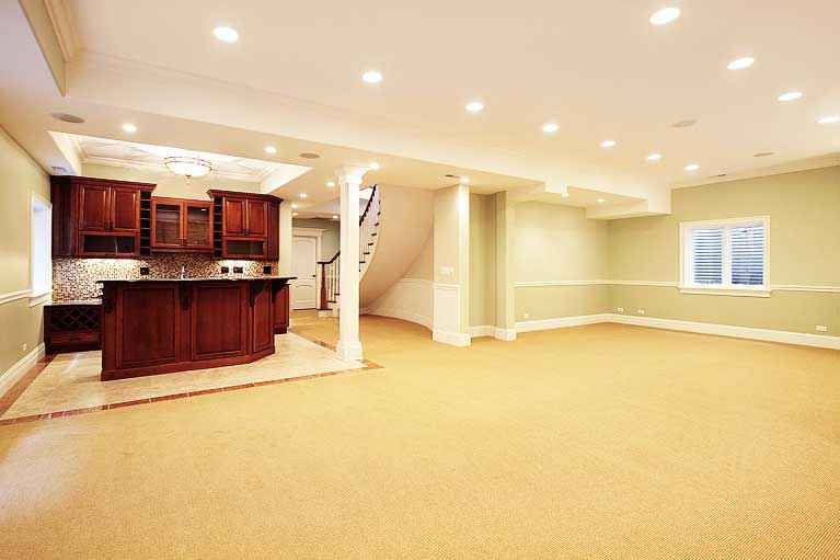 Home page our services pic Basement Remodeling Services